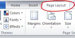 1-Click-on-the-Page-Layout-tab1