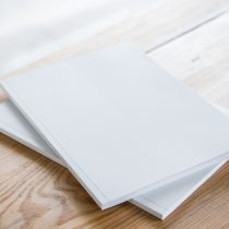 blank author book cover